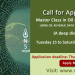 Call for Application: Master Class in Oil & Gas Reporting