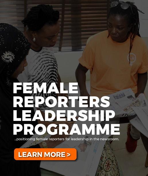 female reporters leadership programme