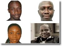 Peter Nkanga, Elor Nkereuwem, Idris Akinbajo and Musikilu Mojeed