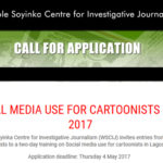 Social Media Use Training For Cartoonists