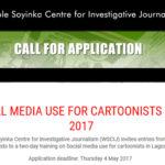 Social Media Use Training For Cartoonists